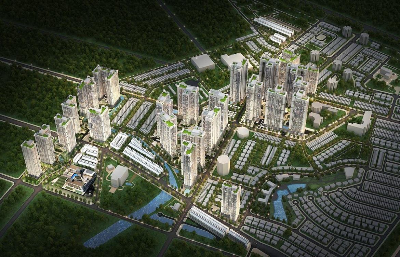 Quy mô tổng thể dự án căn hộ chung cư Laimian City Phường Bình An, Quận 2  chủ đầu tư HDTC