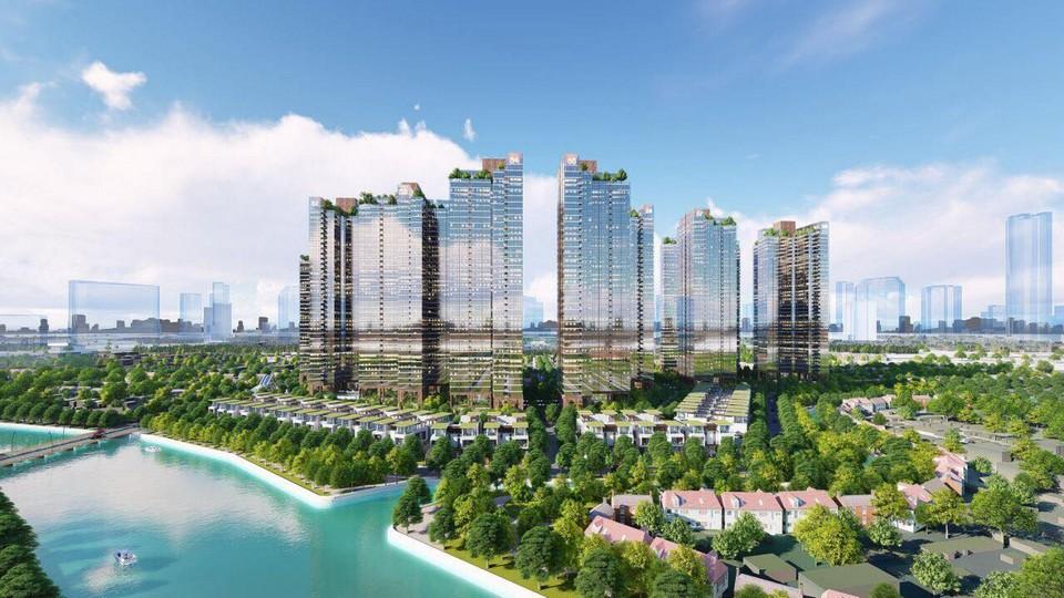 Phong cách Châu Âu ấn tượng cho dự án căn hộ Sunshine City Sài Gòn Quận 7