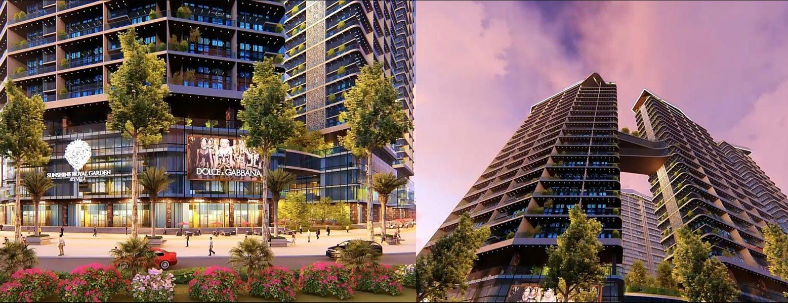Mua bán cho thuê dự án căn hộ chung cư Sunshine Legend Sky Villas Quận 7 Đường Nguyễn Hữu Thọ chủ đầu tư Sunshine Group