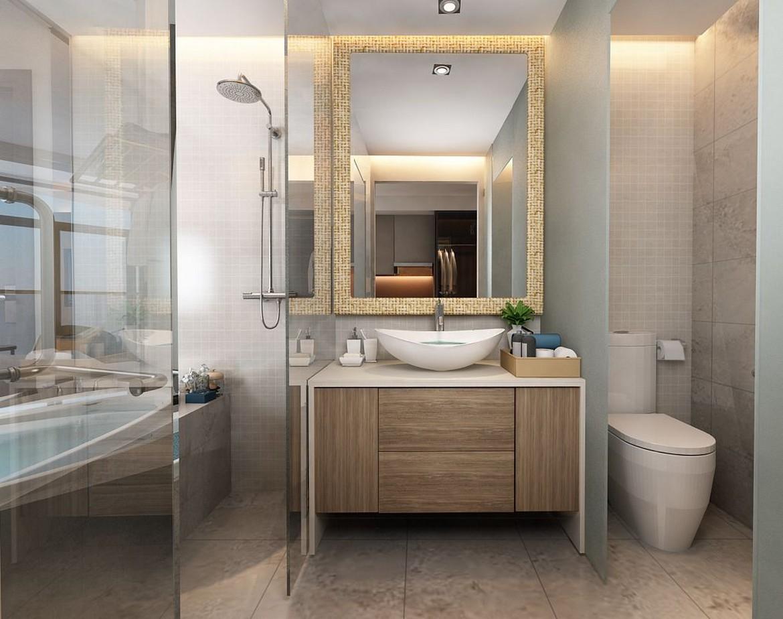 Nhà vệ sinh thiết kế theo phong cách Champa - SGD AnGiaLand Hotline 0931.567.878