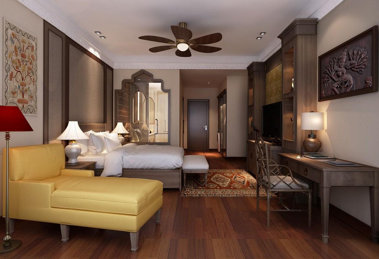 Phòng ngủ thiết kế theo phong cách Champa - SGD AnGiaLand Hotline 0931.567.878