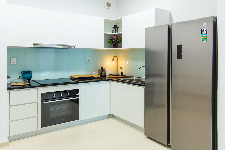 Nhà mẫu dự án căn hộ chung cư Hausbelo Quận 9 Đường Liên Phường chủ đầu tư Ezland