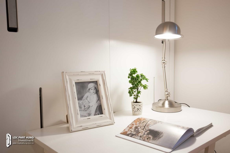 Góc làm việc căn hộ chung cư Hausbelo Quận 9 Đường Liên Phường chủ đầu tư Ezland - Loại 1 phòng ngủ + 1 WC - Liên hệ 0942.098.890 Xem nhà mẫu thực tế.