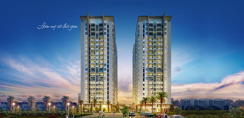 Phối cảnh dự án căn hộ Luxcity Quận 7 Đường Huỳnh Tấn Phát chủ đầu tư Đất Xanh
