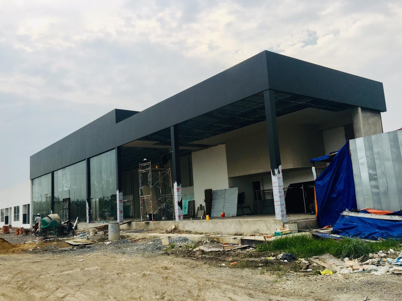 Tiến độ dự án căn hộ chung cư La Premier Quận 2 Phường Thạnh Mỹ Lợi chủ đầu tư Phú Cường Group và Lotte Việt Nam tháng 12/2018
