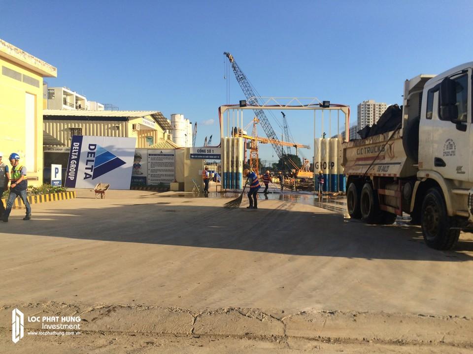 Tiến độ dự án căn hộ chung cư Raemian City Quận 2 ngày 26/10/2018 chủ đầu tư HDTC