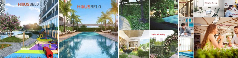 Tiện ích dự án căn hộ chung cư Hausbelo Quận 9 Đường Liên Phường chủ đầu tư Ezland
