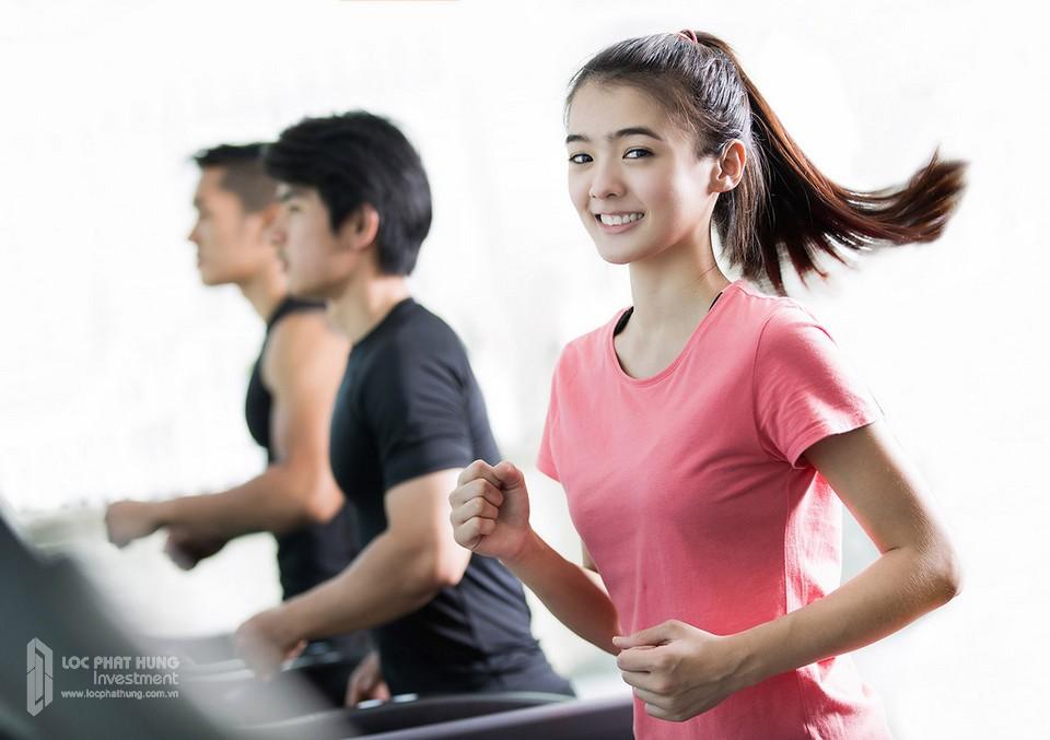 Phòng Gym và Yoga tại dự án căn hộ chung cư Sunshine City Sài Gòn Quận 7