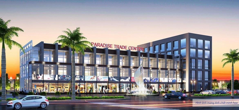 Trung tâm thương mại trong phân khu biệt thự Para Draco Cam Ranh Đường Nguyễn Tất Thành chủ đầu tư KN Cam Ranh