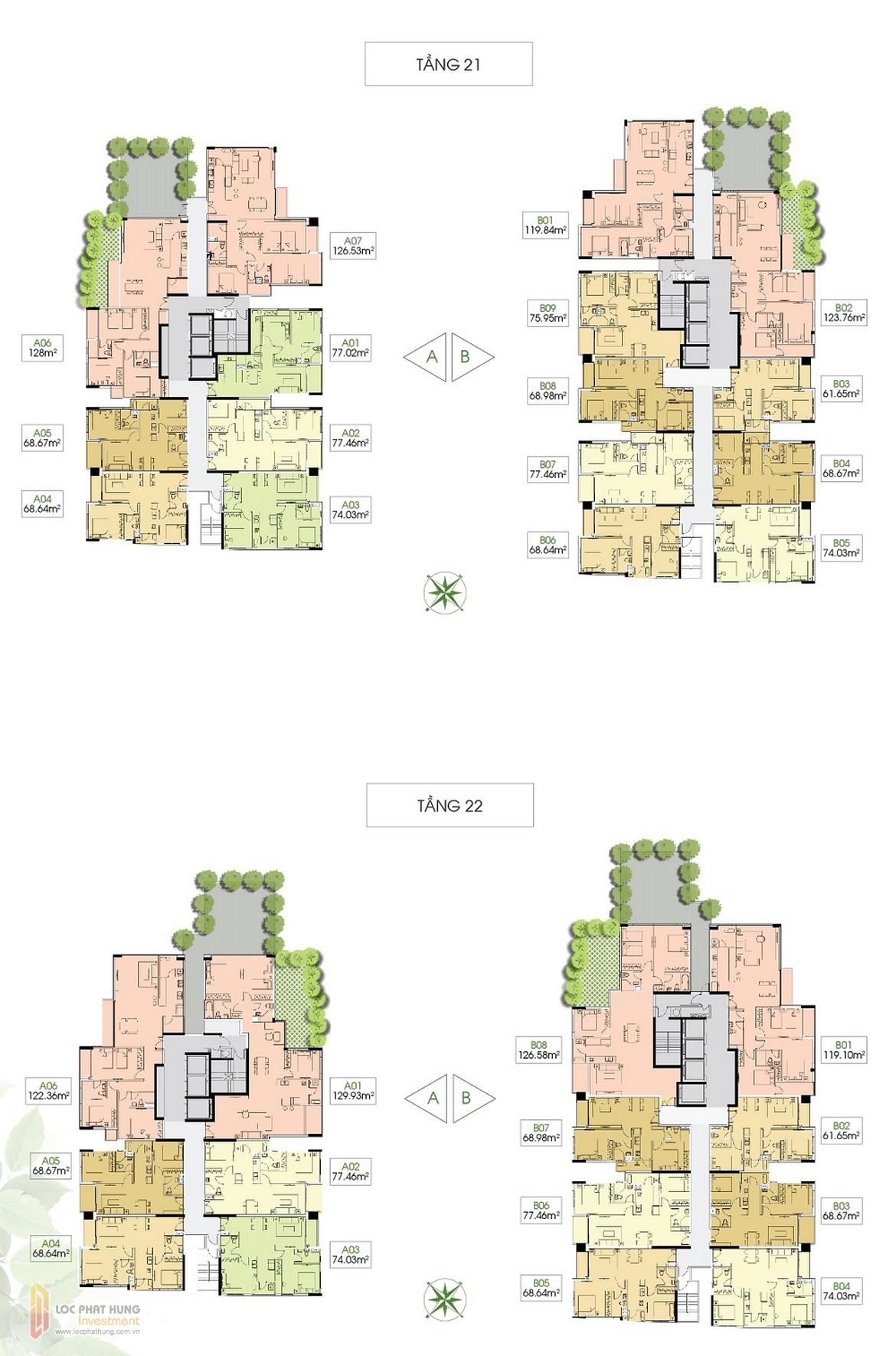 Mặt bằng dự án căn hô Lux Garden Quận 7