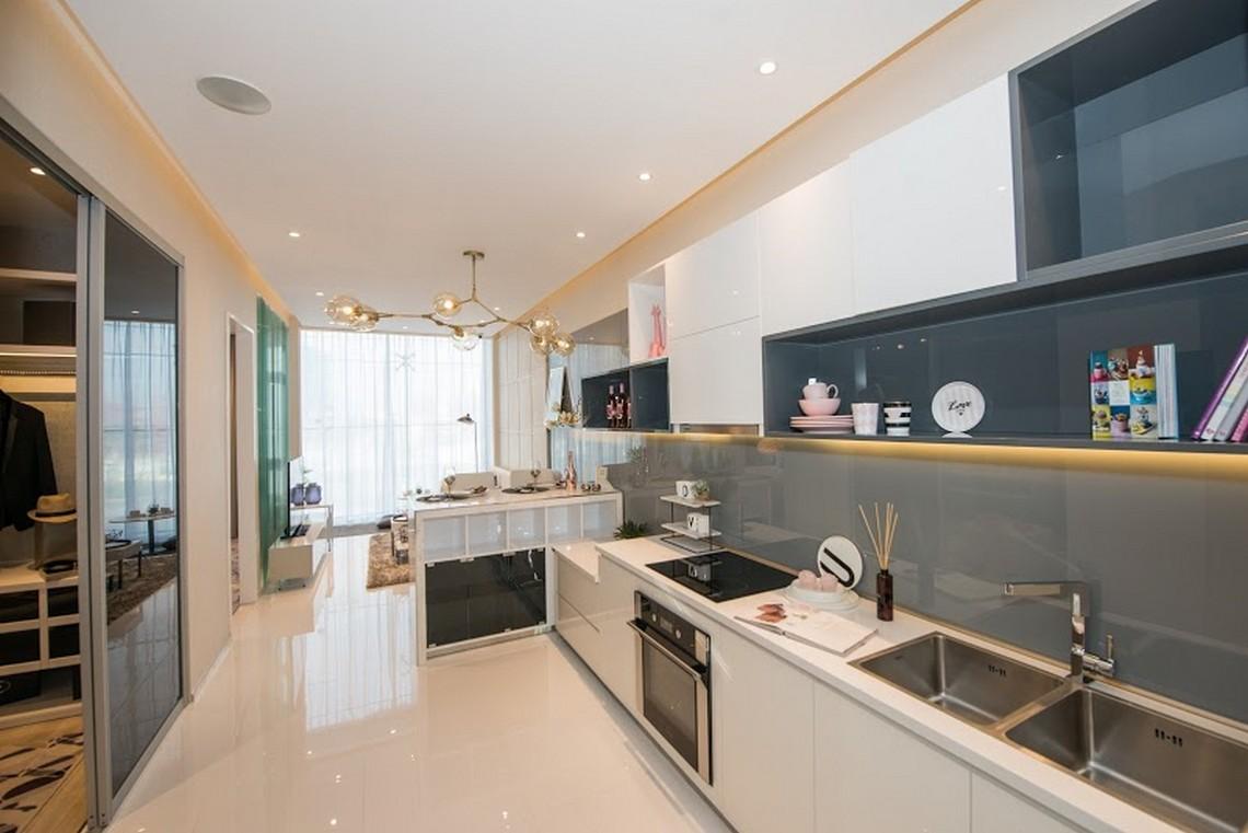Nhà mẫu 55m2 dự án căn hộ chung cư Sunshine River City Quận 7 Đường Đào Trí chủ đầu tư Sunshine Group