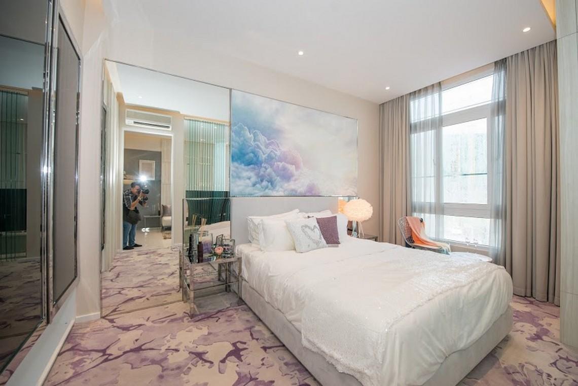 Thiết kế phòng ngủ Master căn hộ chung cư River City Quận 7 diện tích 55m2
