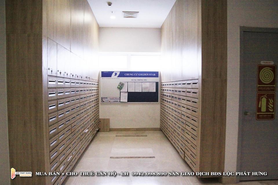 Khu vực hòm thư cá nhân tại tầng trệt dự án căn hộ chung cư cho thuê The Golden Star Quận 7 - Liên hệ SGD BĐS Lộc Phát Hưng - Hotline 0942.098.890 - 0973.098.890 hỗ trợ xem thực tế các căn hộ