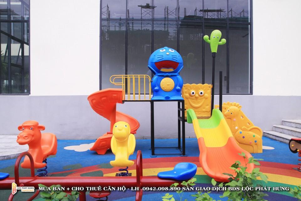 Khu vui chơi trẻ em dự án căn hộ chung cư cho thuê The Golden Star Quận 7 - Liên hệ SGD BĐS Lộc Phát Hưng - Hotline 0942.098.890 - 0973.098.890 hỗ trợ xem thực tế các căn hộ
