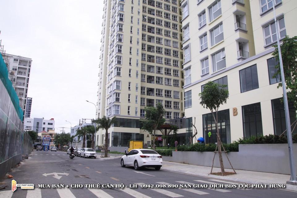 Đường vào nội khu dự án căn hộ chung cư cho thuê The Golden Star Quận 7 - Liên hệ SGD BĐS Lộc Phát Hưng - Hotline 0942.098.890 - 0973.098.890 hỗ trợ xem thực tế các căn hộ