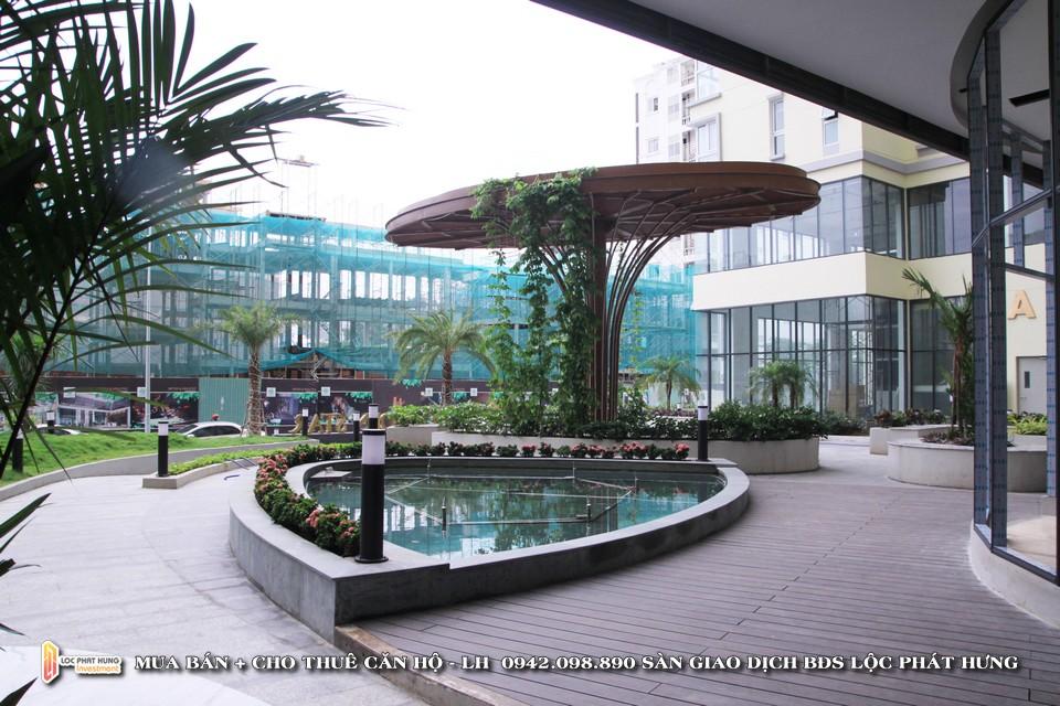 Sản chờ và siêu thị tại tầng trệt dự án căn hộ chung cư cho thuê The Golden Star Quận 7 - Liên hệ SGD BĐS Lộc Phát Hưng - Hotline 0942.098.890 - 0973.098.890 hỗ trợ xem thực tế các căn hộ