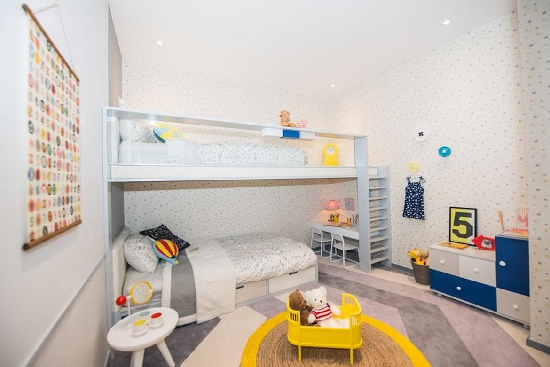 Phòng ngủ 1 - Nhà mẫu căn hộ Raemian City Quận 2 . Loại diện tích: 65m2