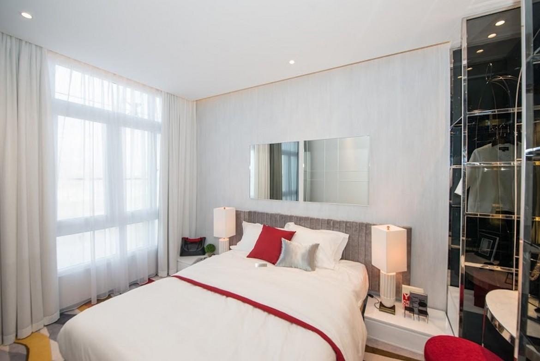 Phòng ngủ 2 - Nhà mẫu căn hộ Raemian City Quận 2 . Loại diện tích: 65m2