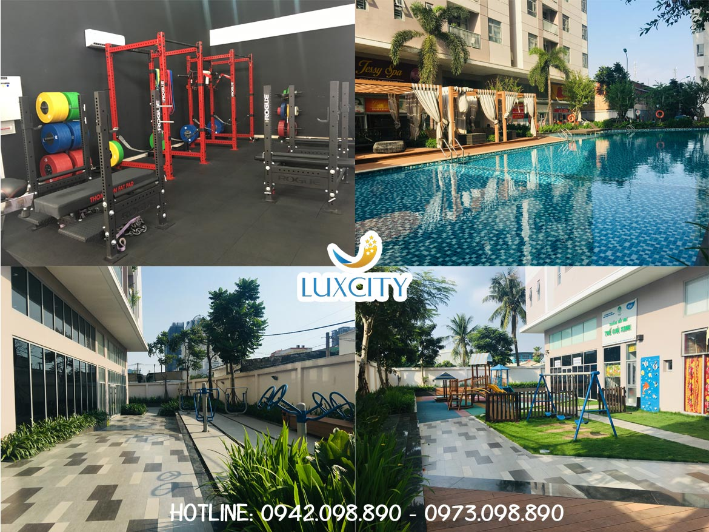 Hình ảnh thực tế tiện ích dự án căn hộ chung cư Luxcity Quận 7 Đường Huỳnh Tấn Phát chủ đầu tư Đất Xanh