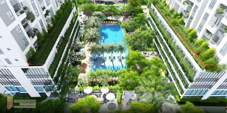 Tiện ích Bể Bới Chung Cu Lux Garden