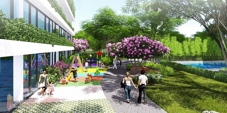 Tiện ích công viên nội khu dư án Lux Garden Quân 7