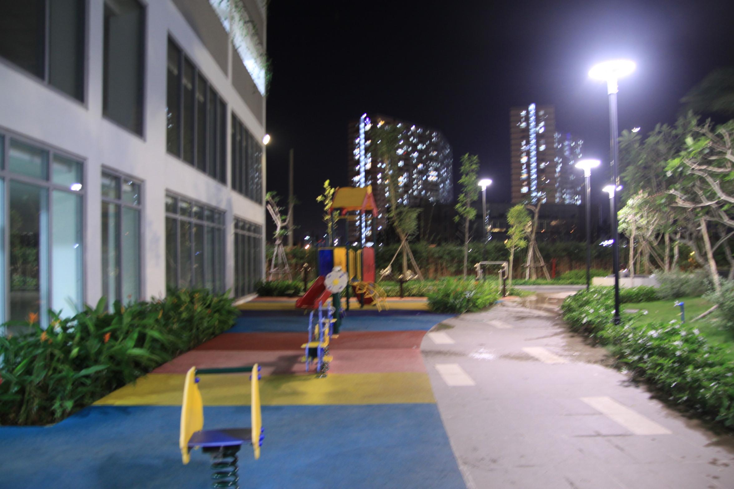 Hình ảnh thực tế khu vui chơi lux Garden Quận 7