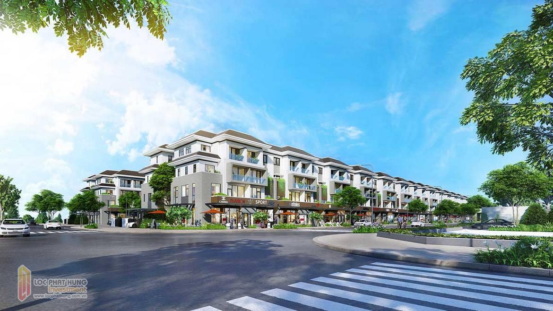 Nhà phố khu dự án GS Sài Gòn Nhà Bè