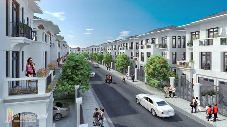 Biệt thự Dự án GS Nhà Bè Metrocity