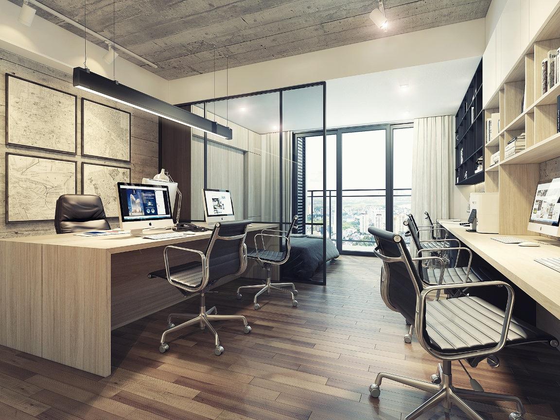 Không gian diện tích nhỏ căn hộ Signial đa chức năng đang được giới trẻ ưa chuộng, không gian làm việc và ở tiết kiệm và linh hoạt thơi gian.