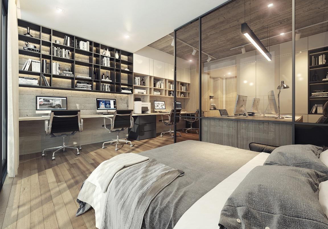 Phong cách sang trọng và bố trí hợp lý là điểm nhấn cho thiết kế căn hộ Signial quận 7