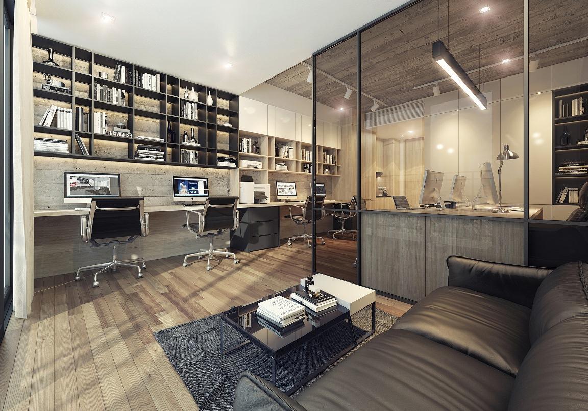 Thiết kế nội thất căn hộ Signial Quận 7 được đầu tư phù hợp với khách hàng trẻ trung năng động tối đa hóa không gian làm việc và ở.