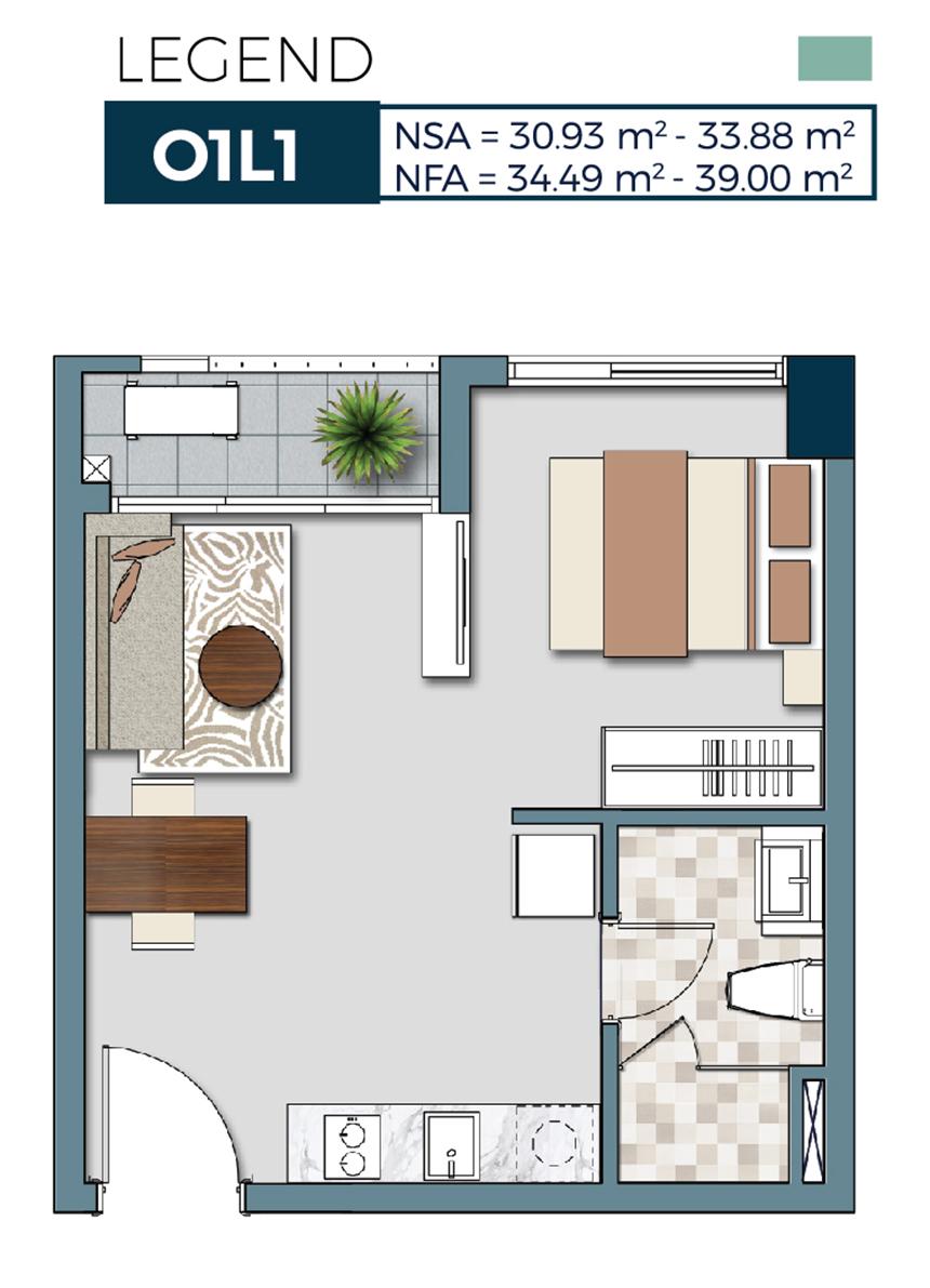 Thiết kế dự kiến căn hộ Signial Quận 7 chủ đầu tư An Gia Hoàng Quốc Việt