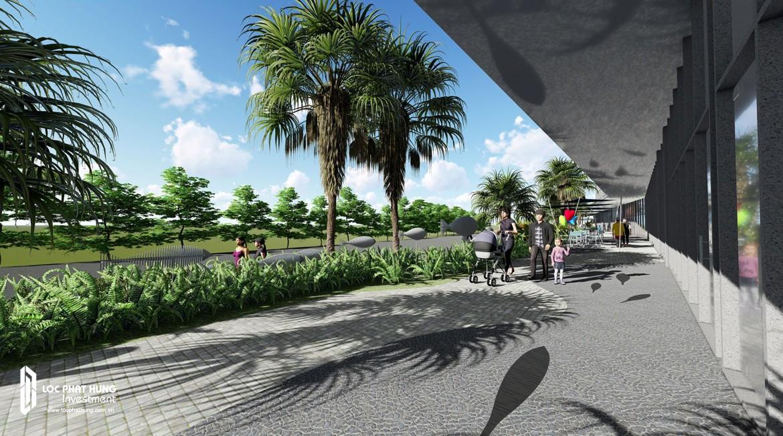 Khuôn viên dự án The infiniti Riviera Point Quận 7
