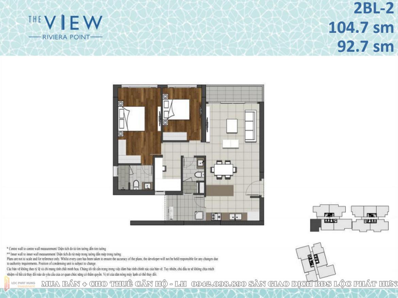 Thiết kế căn hộ dự án The View Riviera point