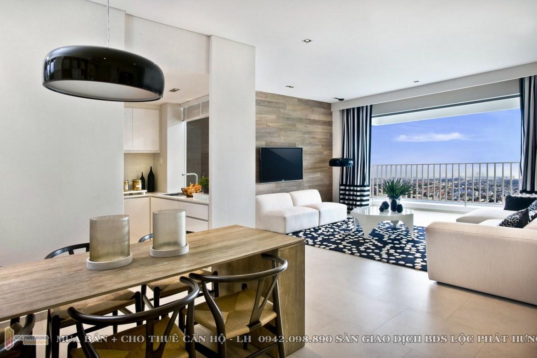 Nhà mẫu dự án căn hộ chung cư The View Rivira Point