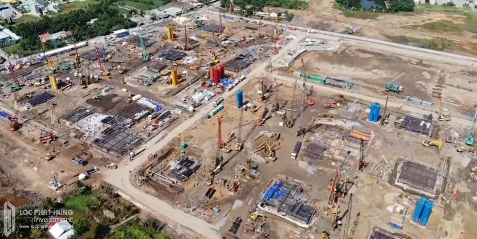 Tiến độ xây dựng dự án căn hộ Vinhomes Grand Park Quận 9 tháng 01/2019