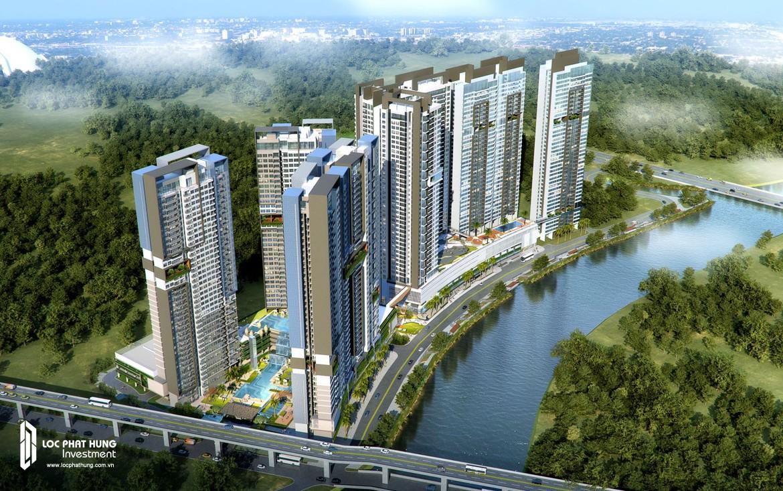 Cụm dự án Riviera Point, The View, The Infiniti, The Loft đường Trần Huy Tưởng bên sông Cả Cẩm Quận 7