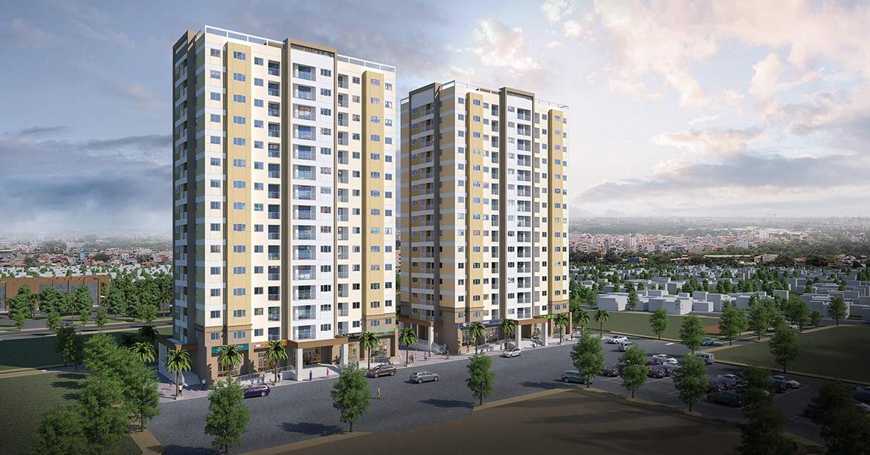 Phối cảnh dự án căn hộ chung cư An Sương I Park Quận 12