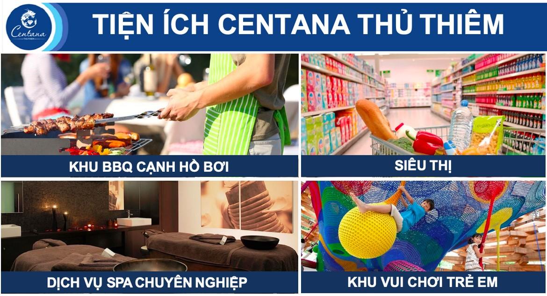 Tiện ích dự án căn hộ chung cư Centana Thủ Thiêm Quận 2 Đường Mai Chí Thọ chủ đầu tư Điền Phúc Thành