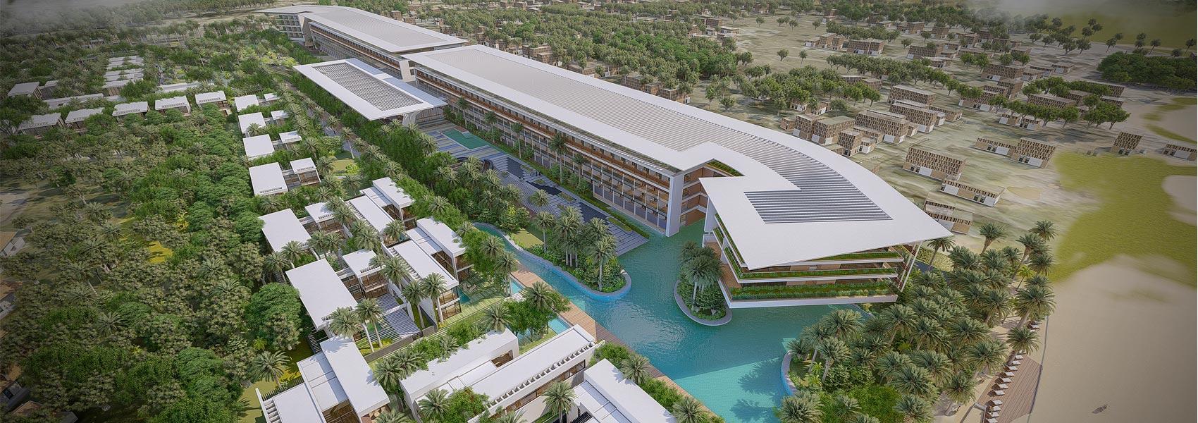 Slide trang chủ dự án căn hộ condotel biệt thự Mũi Né Summer Land Phan Thiết. Mua bán và cho thuê nhà phố, biệt thự
