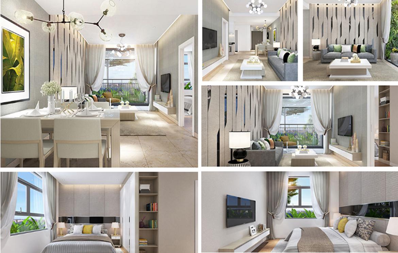 Nhà mẫu dự án căn hộ chung cư Fico Star Quận Tân Bình Đường Phan Huy Ích chủ đầu tư Fico