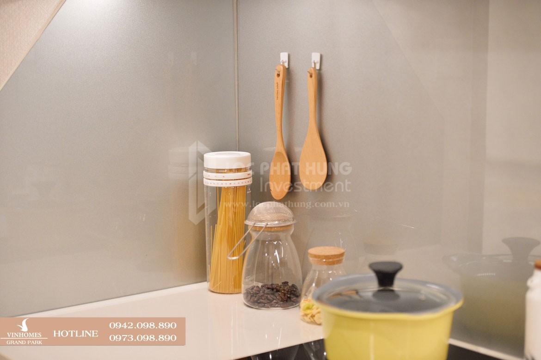 Thiết kế bếp căn hộ mẫu Vinhomes Grand Park diện tích 30.9m2 - Liên hệ SGD BĐS Lộc Phát Hưng 0942.098.890 Xem nhà mẫu + Xem thực tế + Chính sách bán hàng Vinhomes Grand Park