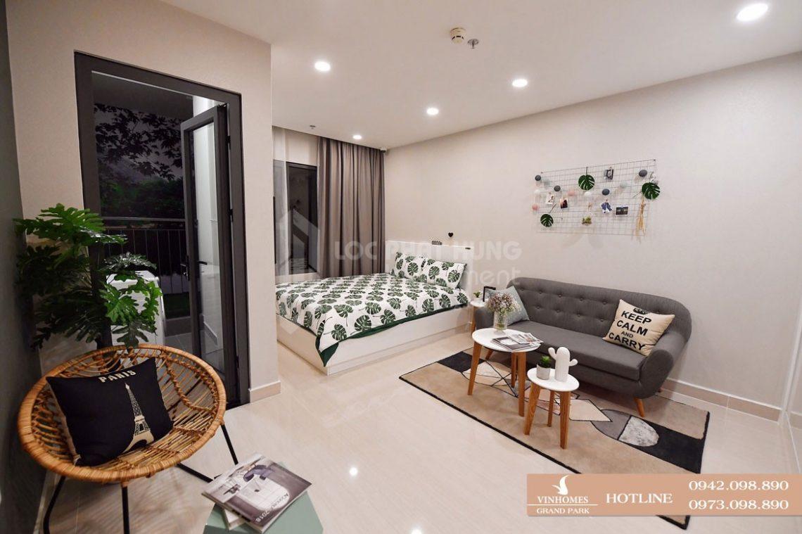 Nhà mẫu căn hộ chung cư Vinhomes Grand Park Quận 9