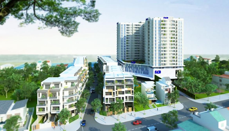 Phối cảnh dự án căn hộ chung cư Fico Star Quận Tân Bình Đường Phan Huy Ích chủ đầu tư Fico