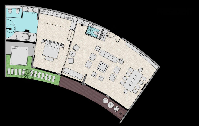 Thiết kế Residence condotel dự án Thanh Long Bay Bình Thuận