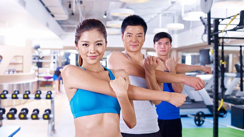 Phòng Gym trong nội khu căn hộ chung cư Sunshine River City Quận 7