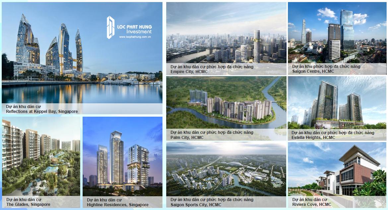 Các dự án chủ đầu tư Kepple Land Dự án The Infiniti Riviera Point