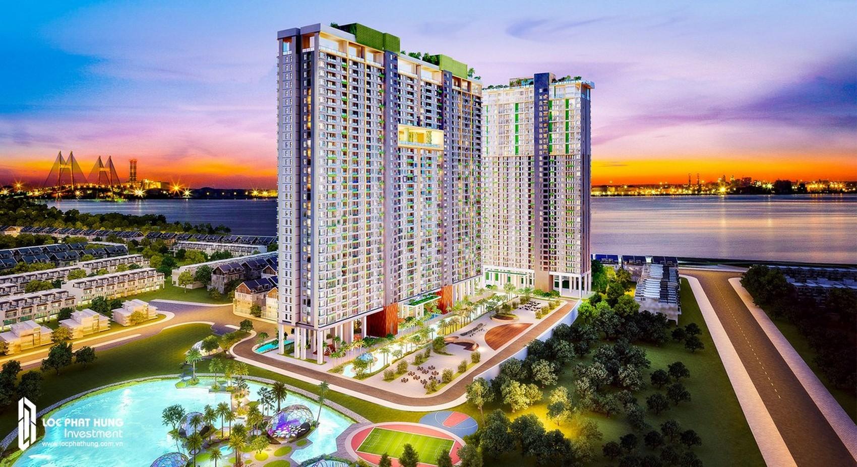 Phối cảnh dự án căn hộ chung cư River Panorama Quận 7 Đường 89 Hoàng Quốc Việt chủ đầu tư An Gia Investment