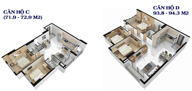 Thiết kế dự án căn hộ chung cư An Sương I Park Quận 12