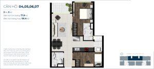 Thiết kế chi tiết dự án căn hộ West Gate Bình Chánh